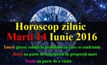 Horoscop zilnic Marti 14 Iunie 2016 - Taurii găsesc soluții la problema cu care se confruntă, Racii au parte de o surpriză de proporții
