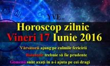 Horoscop zilnic Vineri 17 Iunie 2016 – Gemenii sunt axați în a-i ajuta pe cei dragi, Balanțele trebuie să fie prudente
