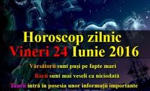 Horoscop zilnic Vineri 24 Iunie 2016 – Taurii intră în posesia unor informații importante, Racii sunt mai veseli ca niciodată