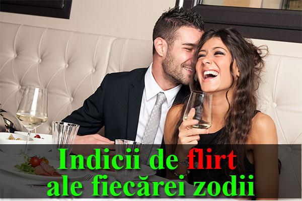 HOROSCOP DRAGOSTE: Indicii de flirt ale fiecărei zodii