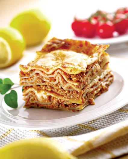 Lasagna cu sos aromat