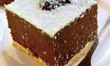 Prăjitură cu biscuiți și ciocolată