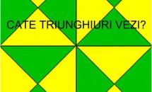 Testul care te va scoate din sărite! Câte triunghiuri reușești să vezi în imagine?