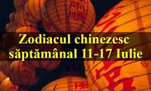 Zodiacul chinezesc săptămânal 11-17 Iulie