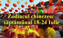 Zodiacul chinezesc săptămânal 18-24 Iulie
