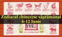 Zodiacul chinezesc săptămânal  6-12 Iunie