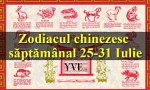 Zodiacul chinezesc săptămânal 25-31 Iulie