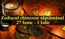 Zodiacul chinezesc săptămânal 27 Iunie - 3 Iulie
