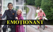 EMOȚIONANT: Cursa India-Suedia făcută cu bicicleta pentru a-și găsi adevărata iubire. Descoperă întreaga poveste!