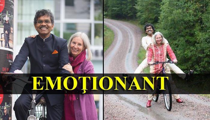 EMOŢIONANT: Cursa India-Suedia făcută cu bicicleta pentru a-și găsi adevărata iubire. Descoperă întreaga poveste!