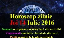 Horoscop zilnic Joi 14 Iulie 2016 – Gemenii sunt plăcut surprinși încă din zorii zilei, Capricornii sunt într-o formă de zile mari