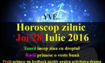 Horoscop zilnic Joi 28 Iulie 2016 – Taurii încep ziua cu dreptul, Racii primesc o veste bună din partea unei persoane de la care nu se  așteptau