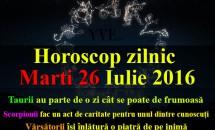 Horoscop zilnic Marti 26 Iulie 2016 – Taurii au parte de o zi cât se poate de frumoasă
