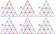 Test online – Care este capacitatea ta de concentrare? Reușești să găsești toate triunghiurile din imagine?