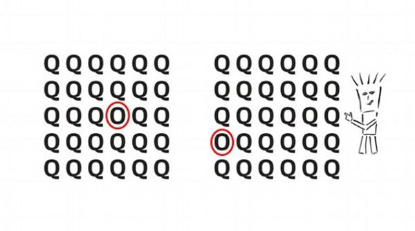 rezultat test litera O