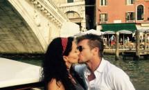 Mihaela Rădulescu și Felix Baumgartner, romantici în Veneția! Vezi fotografia unui sărut pasional!