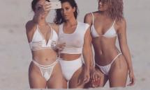 Kim Kardashian, sexy la plajă! Vezi imaginile de senzație aici!