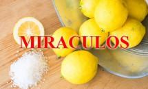 A amestecat zeamă de lămâie cu sare și le-a băut, iar efectele au fost miraculoase și imediate!