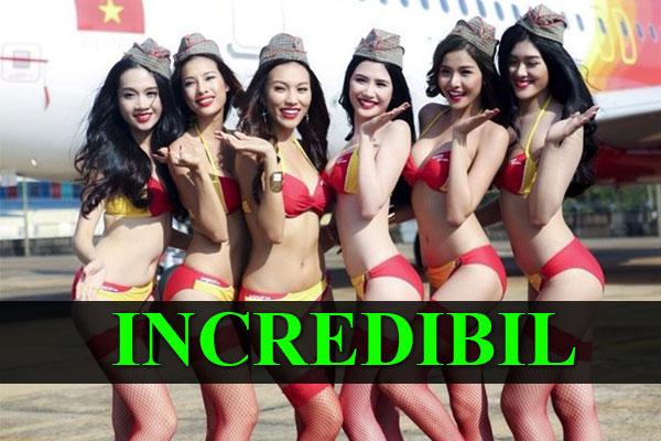A devenit miliardară cu ajutorul stewardeselor în bikini