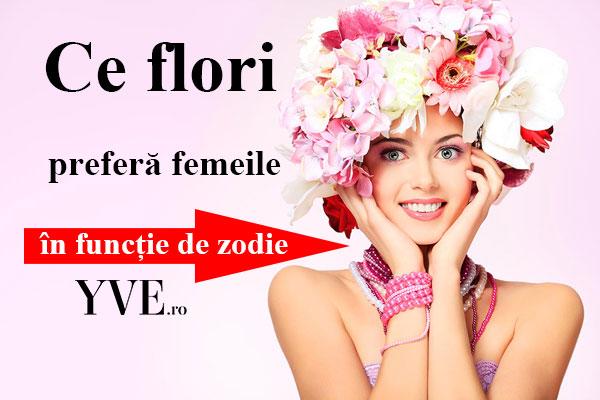 HOROSCOP: Ce flori preferă femeile în funcție de zodie