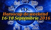 Horoscop de weekend 16-18 Septembrie 2016 - Săgetătorii se răsfață, iar Capricornii au motiv de sărbătorit