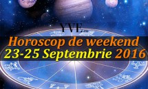 Horoscop de weekend 23-25 Septembrie 2016 - Berbecii au o energie care stârnește invidie