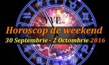 Horoscop de weekend 30 Septembrie - 2 Octombrie 2016
