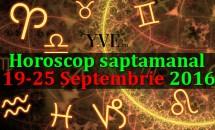 Horoscop saptamanal 19-25 Septembrie 2016 - Leii au parte de o săptămână productivă