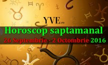 Horoscop saptamanal 26 Septembrie - 2 Octombrie 2016
