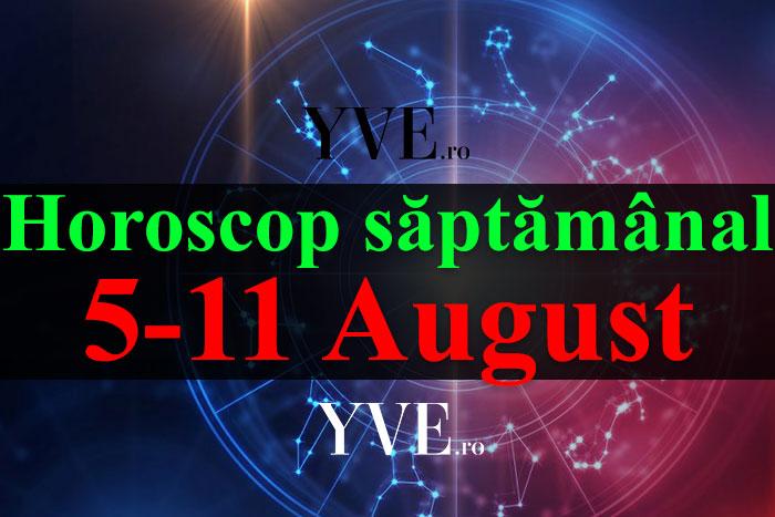 Horoscop saptamanal 5-11 August 2019