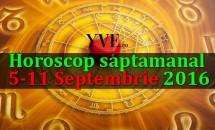 Horoscop saptamanal 5-11 Septembrie 2016
