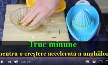 Truc minune pentru o creștere accelerată a unghiilor! De ce ai nevoie? Nimic mai simplu: portocale, usturoi și ulei de măsline