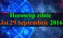 Horoscop zilnic Joi, 29 Septembrie 2016