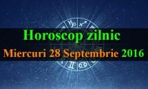 Horoscop zilnic Miercuri, 28 Septembrie 2016