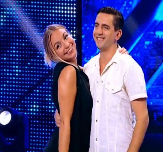 Iubita lui Cosmin Natanticu, pe scena de le X Factor! Cum arată viitoarea soție a actorului de stand-up?