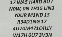 Cat de inteligent esti? Iată ce trebuie să știi dacă reușești să citești acest mesaj!