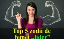 "HOROSCOP: Top 5 zodii de femei ""lider"""