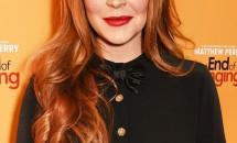 A consumat băuturi alcoolice înainte de a da interviul! Lindsay Lohan le-a dat bătăi de cap jurnaliștilor din Rusia!