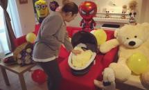 Adda a fost externată și și-a dus băiețelul acasă! Vezi fotografia cu micuțul Alexandru!