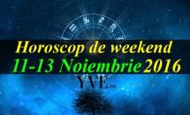 Horoscop de weekend 11-13 Noiembrie 2016