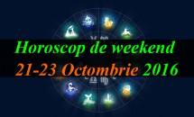 Horoscop de weekend 21-23 Octombrie 2016