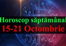 Horoscop săptămânal 15-21 Octombrie 2018