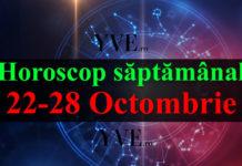 Horoscop săptămânal 22-28 Octombrie 2018