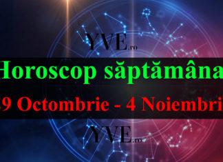 Horoscop săptămânal 29 Octombrie - 4 Noiembrie