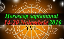 Horoscop saptamanal 14-20 Noiembrie 2016