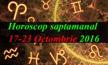 Horoscop saptamanal 17-23 Octombrie 2016