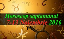 Horoscop saptamanal 7-13 Noiembrie 2016