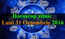 Horoscop zilnic Luni, 31 Octombrie 2016