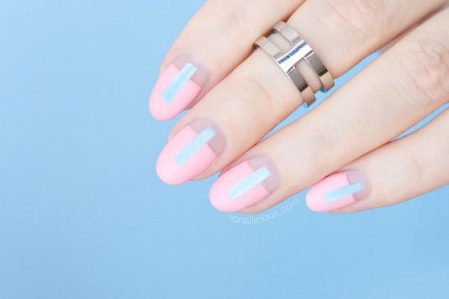 unghii Roz-cuarţ