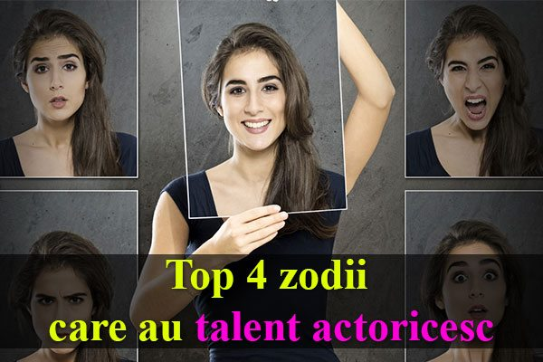 HOROSCOP: Top 4 zodii care au talent actoricesc